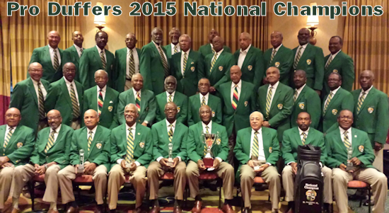 Pro Duffers 2015 National Champions